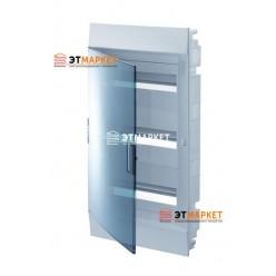 Щит ABB Mistral41F 36 м. (12x3), IP41, прозрачные двери, клеммник, встраиваемый