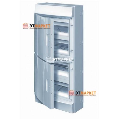 Щит ABB Mistral65 48 м., IP65 , не прозрачные двери, навесной