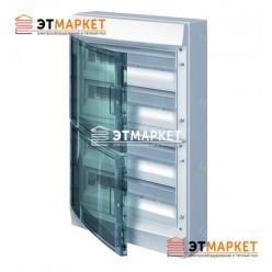 Щит ABB Mistral65 72 м., IP65, прозрачные двери, клеммник, навесной