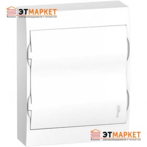 Щиты Schneider Electric Easy9 2 ряда, 24 м., навесной, белая дверца