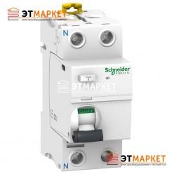 УЗО Schneider Electric iID 2P, 25A, 500 mA, AC