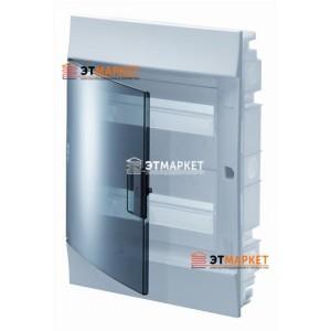 Щит ABB Mistral41F 36 м. (18x2), IP41, прозрачные двери, встраиваемый