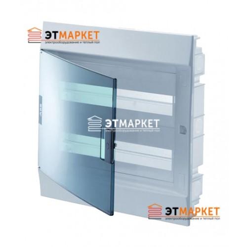 Щит ABB Mistral41F 850 24 м., IP41, прозрачные двери, встраиваемый
