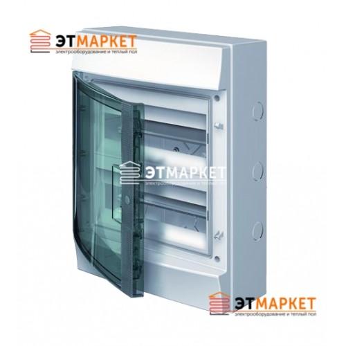 Щит ABB Mistral65 24 м., IP65, прозрачные двери, клеммник, навесной