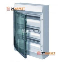 Щит ABB Mistral65 54 м., IP65, прозрачные двери, клеммник, навесной