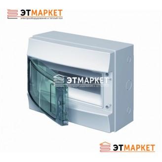 Щит ABB Mistral65 750 12 м., IP65 , прозрачные двери, навесной