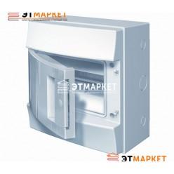Щит ABB Mistral65 8 м., IP65 , не прозрачные двери, навесной