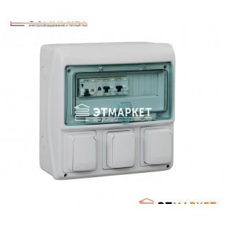 Щит Schneider Electric Kaedra 12 мод., IP65, 3 отв.