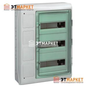 Щит Schneider Electric Kaedra 36 мод., IP65, 3 отв., с интерфейсными платами