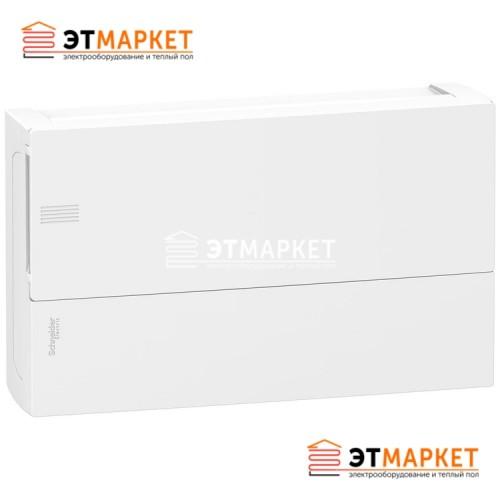 Щит Schneider Electric Mini Pragma 1ряд/18м., навесной, белые двери