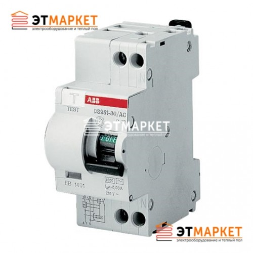 Диффавтомат ABB DS 951 AC-B16/0,03A