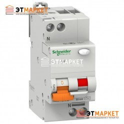 Диффавтомат Schneider Electric АД63 40А, 30 mA, 2 п.