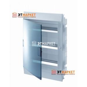 Щит ABB Mistral41F 54 м., IP41, прозрачные двери, встраиваемый