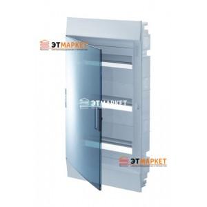 Щит ABB Mistral41F 850 36 м. (12x3), IP41, прозрачные двери, встраиваемый