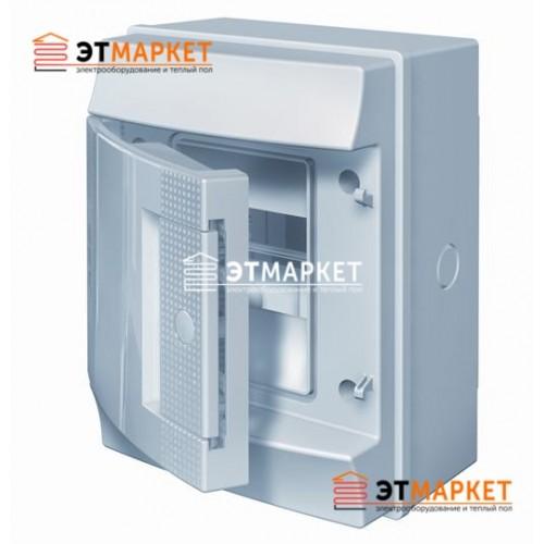 Щит ABB Mistral65 4 м., IP65 , не прозрачные двери, навесной