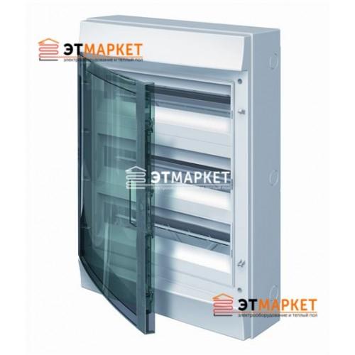 Щит ABB Mistral65 54 м., IP65 , прозрачные двери, навесной