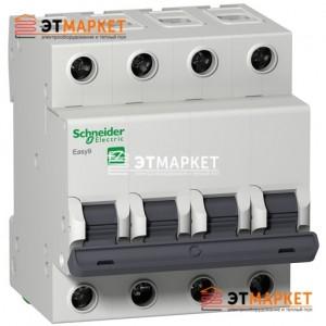 Автомат Schneider Electric Easy9 4 п., 25А, В