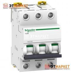 Автоматический выключатель Schneider Electric iC60N, 3P, 1A, B