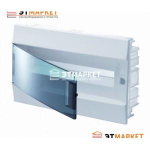 Щит ABB Mistral41F 18 м., IP41, прозрачные двери, встраиваемый