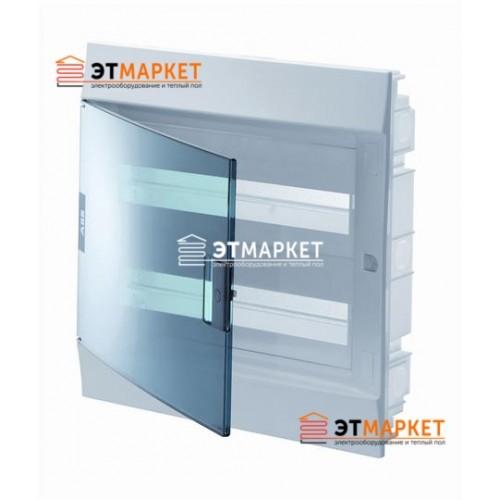 Щит ABB Mistral41F 24 м., IP41, прозрачные двери, встраиваемый