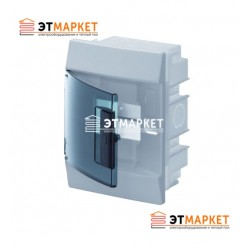Щит ABB Mistral41F 850 4 м., IP41, прозрачные двери, встраиваемый