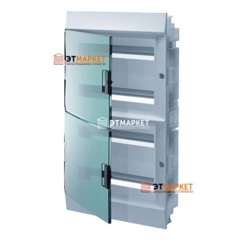 Щит ABB Mistral41F 850 72 м., IP41, прозрачные двери, встраиваемый