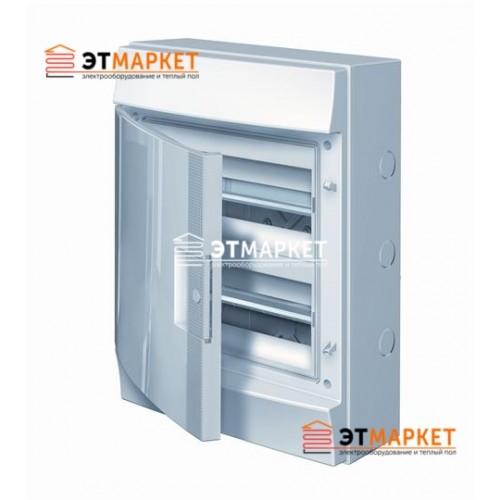 Щит ABB Mistral65 24 м., IP65 , не прозрачные двери, навесной