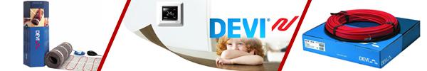 Типы систем «теплый пол» от компании Devi
